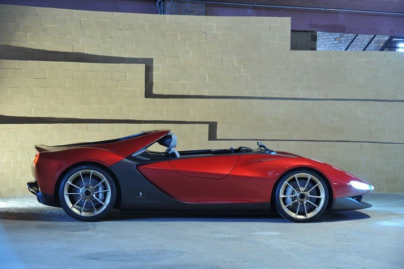 2013 Sergio Pininfarina Tribute Concept by Pininfarina High Resolution Exterior - image 495512