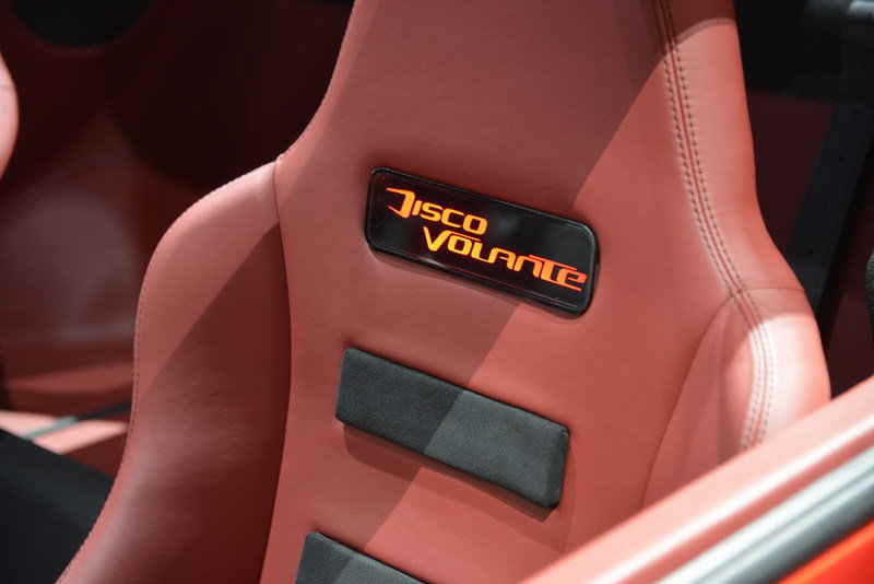 2013 Touring Superleggera Disco Volante Emblems and Logo Interior - image 495732