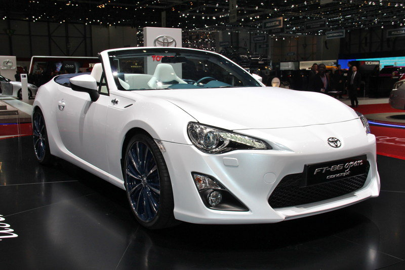 2013 Toyota FT 86 Open Top Concept Exterior AutoShow - image 497255