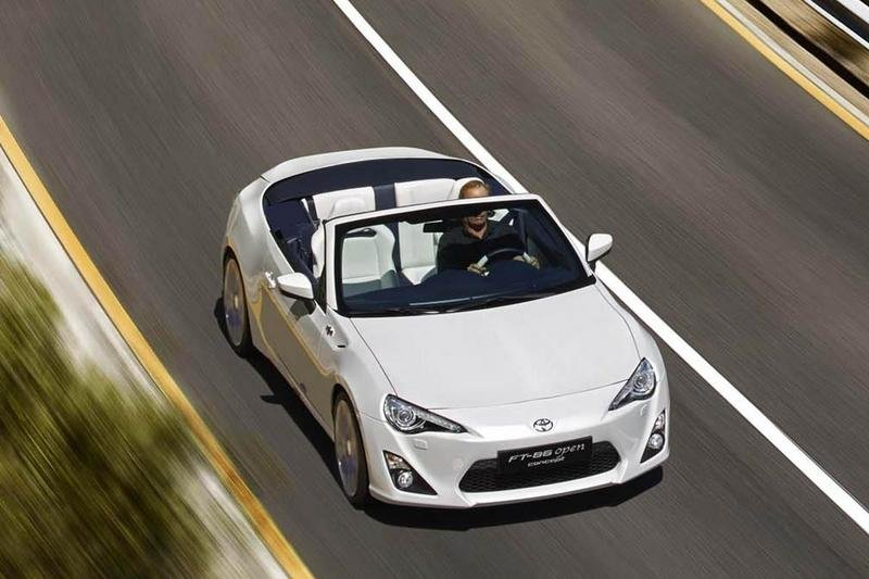 2013 Toyota FT 86 Open Top Concept High Resolution Exterior - image 494574