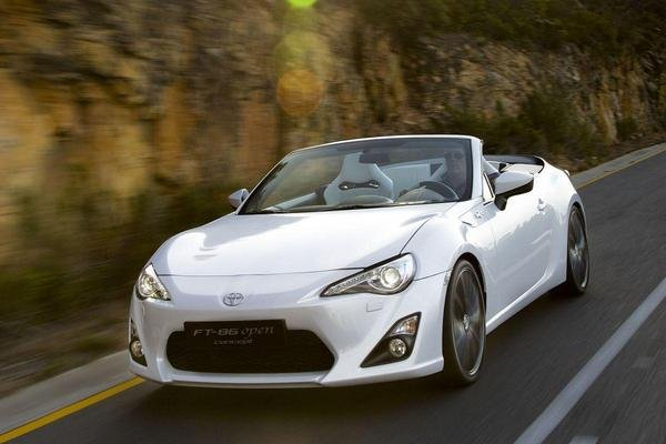 New Toyota Sports Car ft 86 Toyota ft 86 Open Top Concept