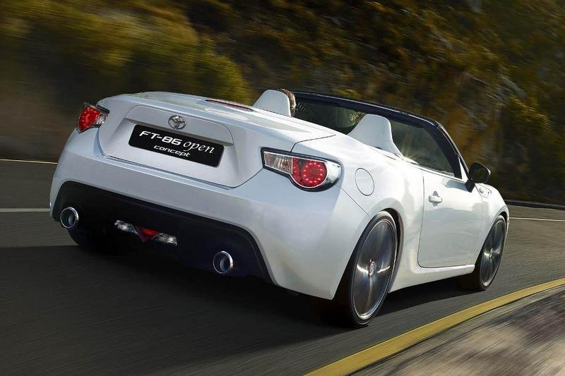 2013 Toyota FT 86 Open Top Concept High Resolution Exterior - image 494578
