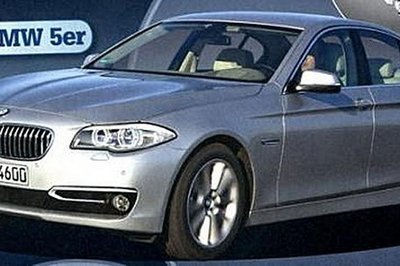 2014 5-Series Image Leaked Again