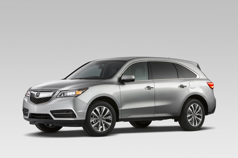 2014 - 2016 Acura MDX High Resolution Exterior - image 499924