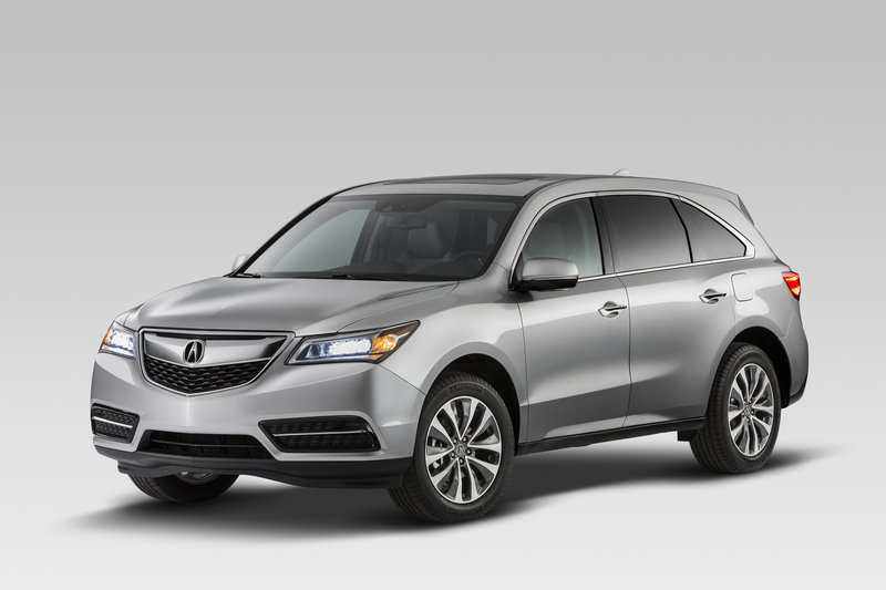 2014 - 2016 Acura MDX High Resolution Exterior - image 499925