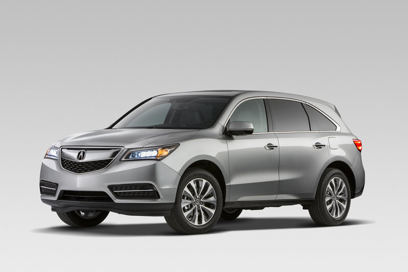 2014 - 2016 Acura MDX High Resolution Exterior - image 499932