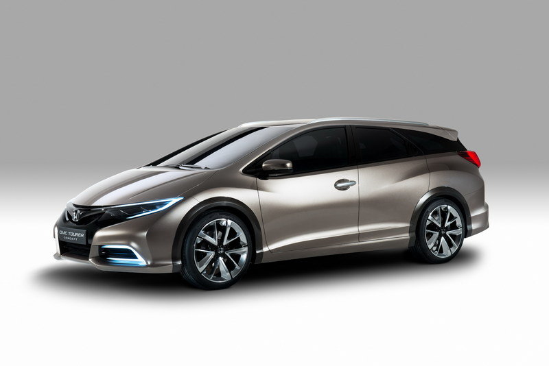 2014 Honda Civic Tourer Concept High Resolution Exterior Wallpaper quality - image 495942