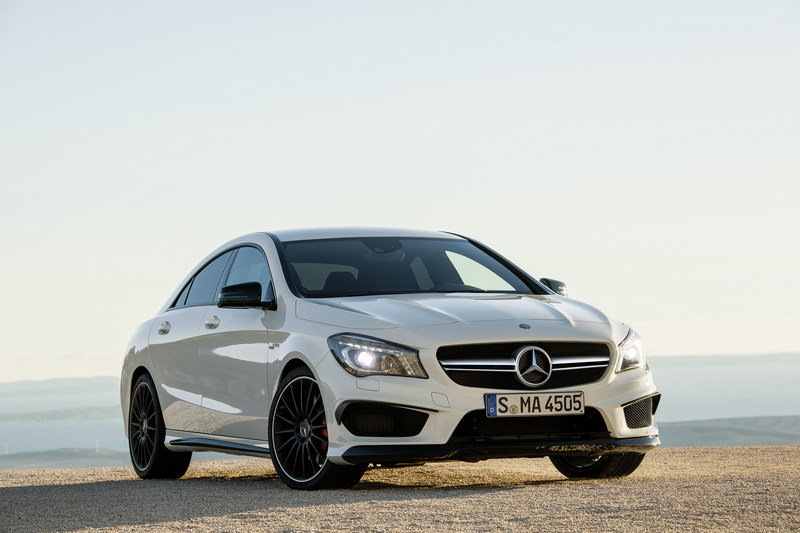 2014 Mercedes CLA 45 AMG High Resolution Exterior - image 499289