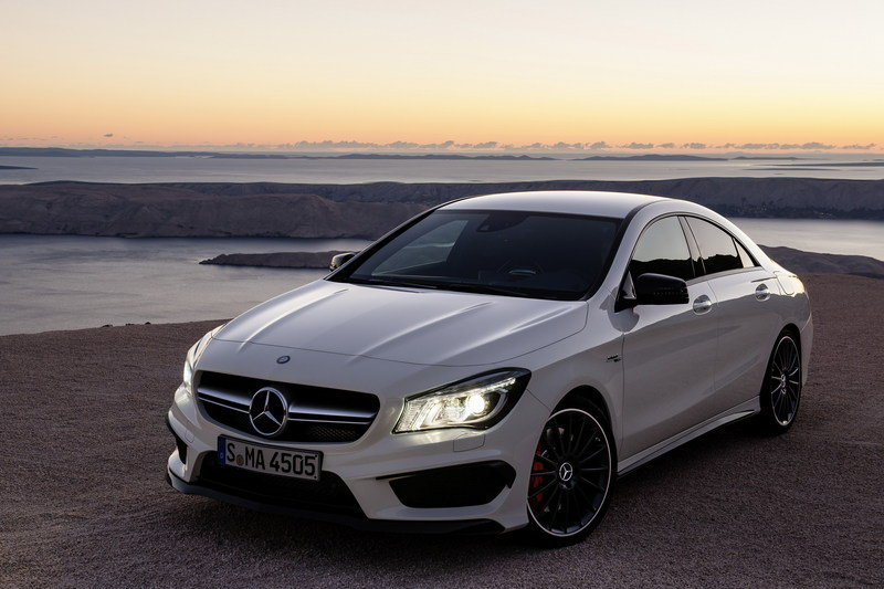 2014 Mercedes CLA 45 AMG High Resolution Exterior - image 499293