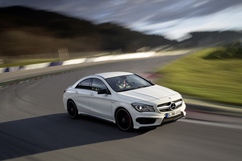 2014 Mercedes CLA 45 AMG High Resolution Exterior - image 499307