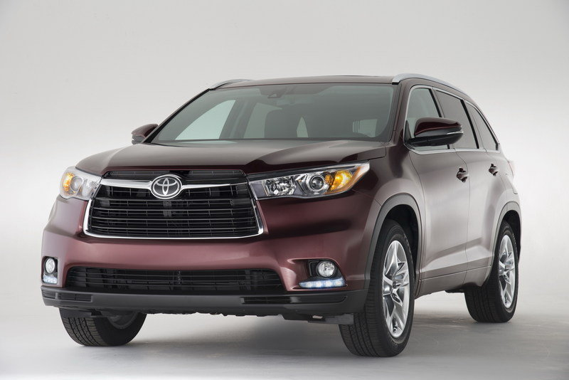 2014 Toyota Highlander High Resolution Exterior - image 499497