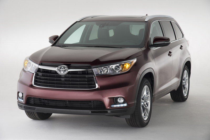 2014 Toyota Highlander High Resolution Exterior - image 499498