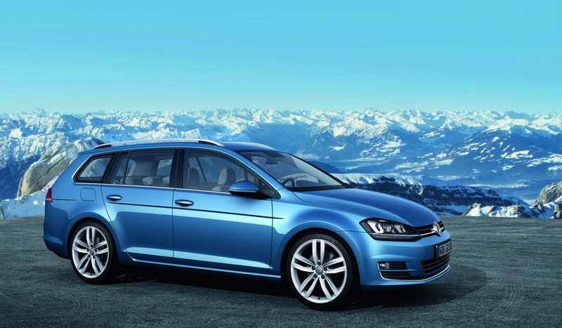 2014 Volkswagen Golf VII Variant High Resolution Exterior - image 495422