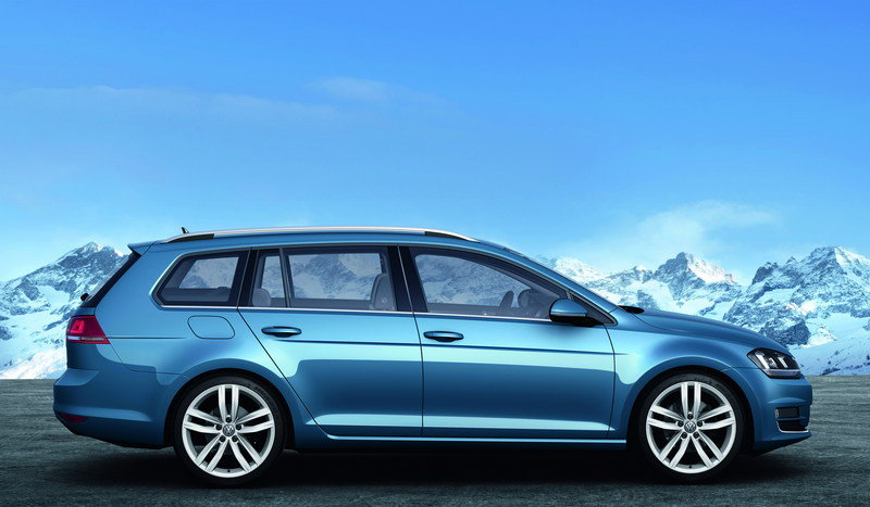 2014 Volkswagen Golf VII Variant High Resolution Exterior - image 495423
