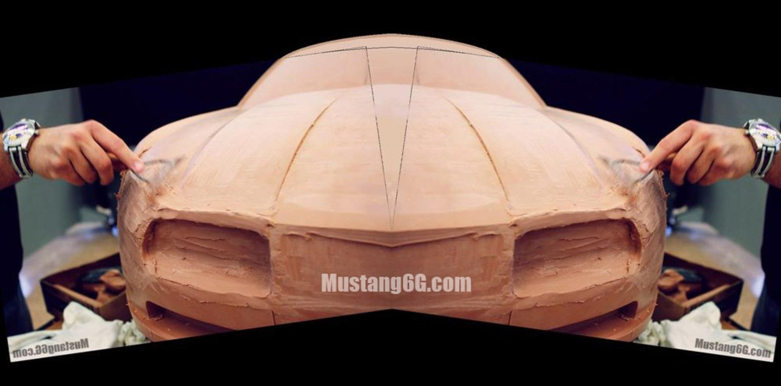 2015 Ford Mustang Revealed In Clay Design Model News Top