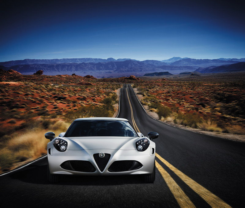 2014 Alfa Romeo 4C Launch Edition High Resolution Exterior - image 495475