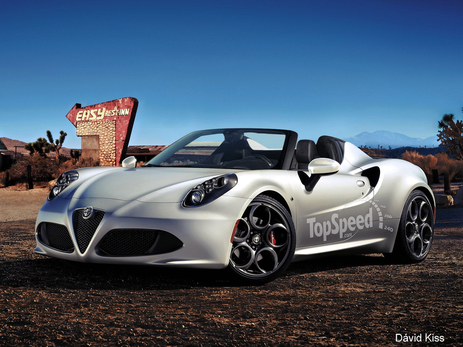 2014 Alfa Romeo 4c Roadster Top Speed