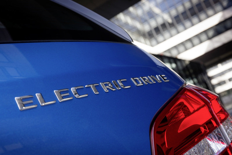 2014 Mercedes-Benz B-Class Electric Drive High Resolution Emblems and Logo Exterior - image 500111