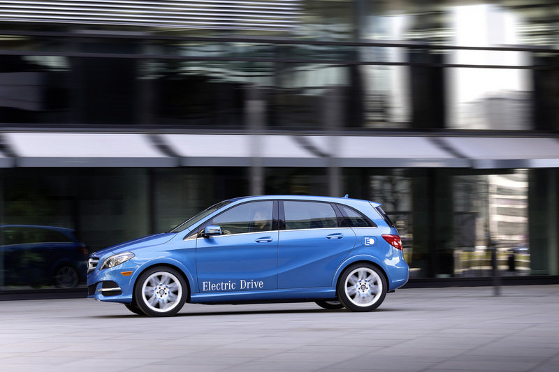2014 Mercedes-Benz B-Class Electric Drive High Resolution Exterior - image 500113