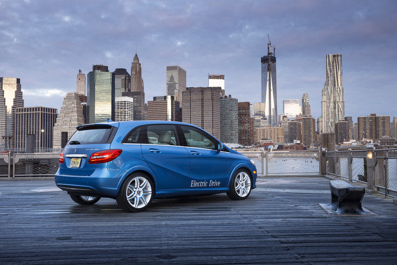 2014 Mercedes-Benz B-Class Electric Drive High Resolution Exterior - image 500116
