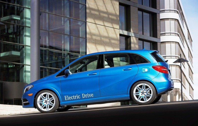 2014 Mercedes-Benz B-Class Electric Drive High Resolution Exterior - image 500109