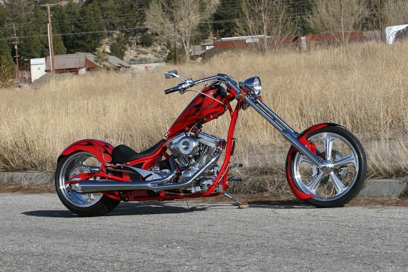 2013 Big Bear Choppers Sled Chopper
