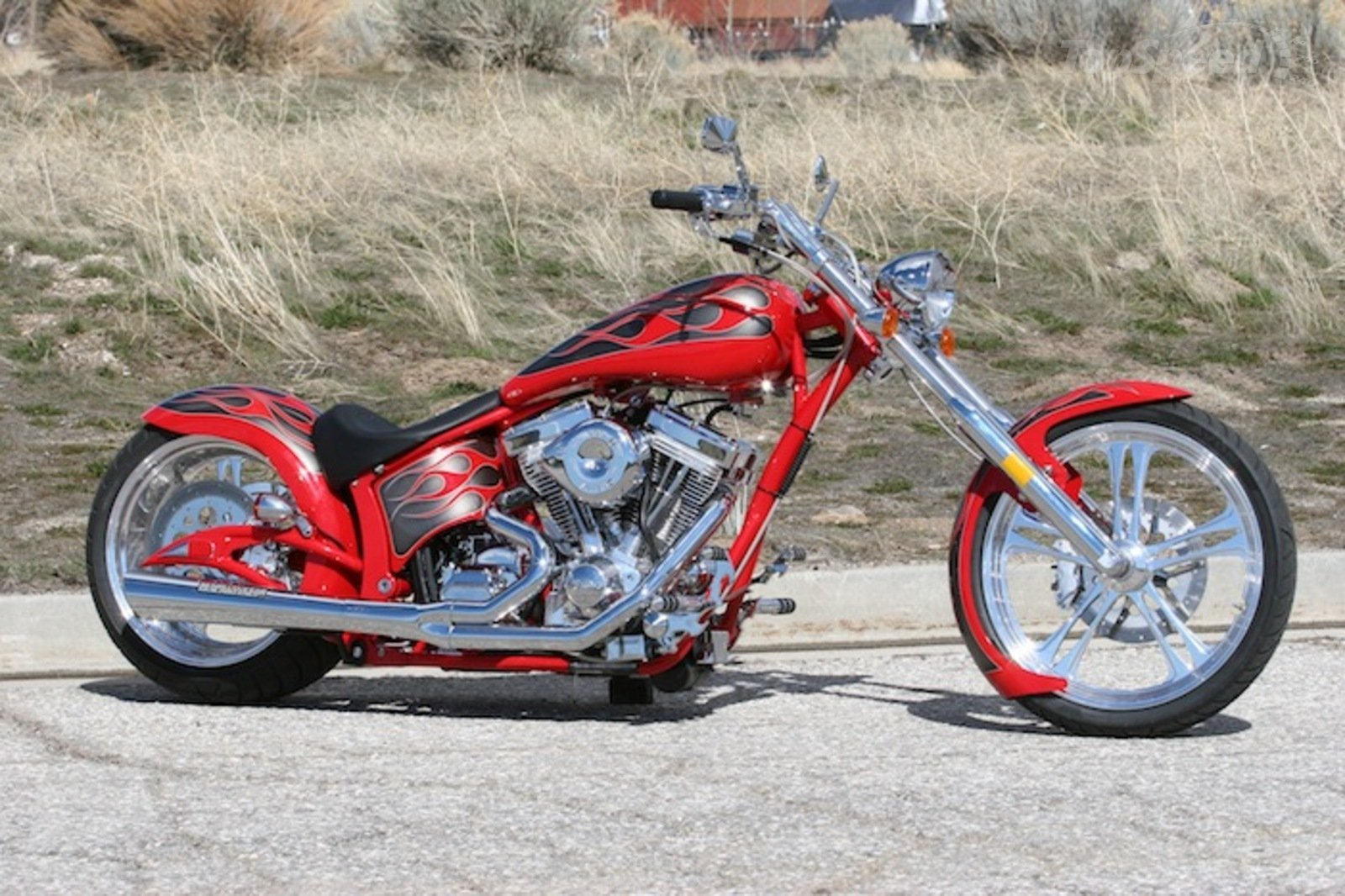 2013 Big Bear Choppers Devil's Advocate Two-Up Review ...   Big Bear Choppers