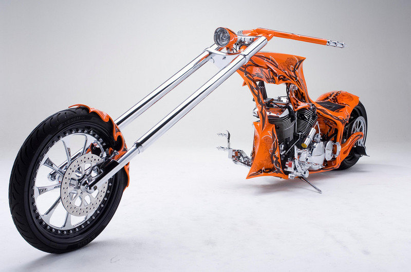 2013 BMS Choppers Got Rake Road Star High Resolution Exterior - image 498301