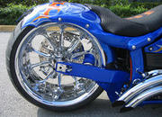 2004 BMS Choppers Blue Crush Warrior - image 497991