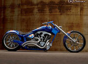 2004 BMS Choppers Blue Crush Warrior - image 497992