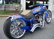 2004 BMS Choppers Blue Crush Warrior - image 497979