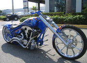 2004 BMS Choppers Blue Crush Warrior - image 497981