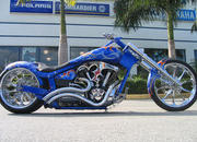 2004 BMS Choppers Blue Crush Warrior - image 497982