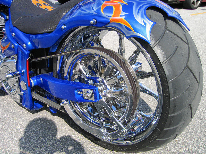 2004 BMS Choppers Blue Crush Warrior Exterior - image 497986