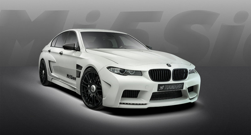 2013 BMW M5 Mi5Sion by Hamann