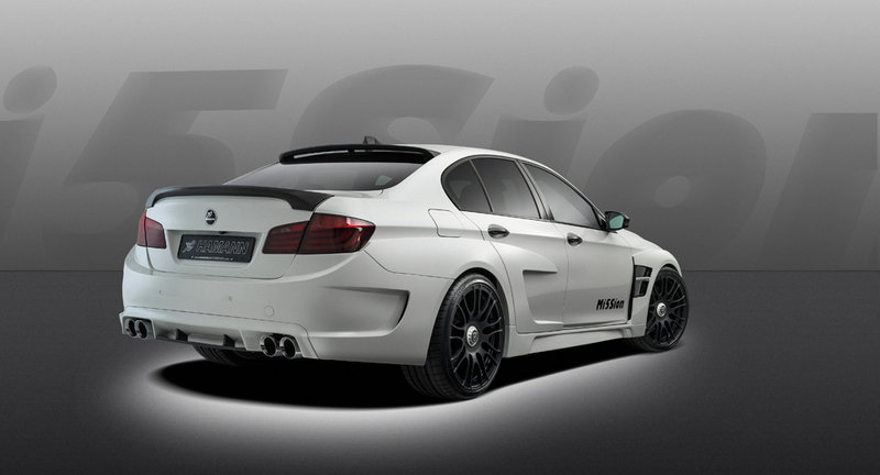 2013 BMW M5 Mi5Sion by Hamann High Resolution Exterior - image 495380