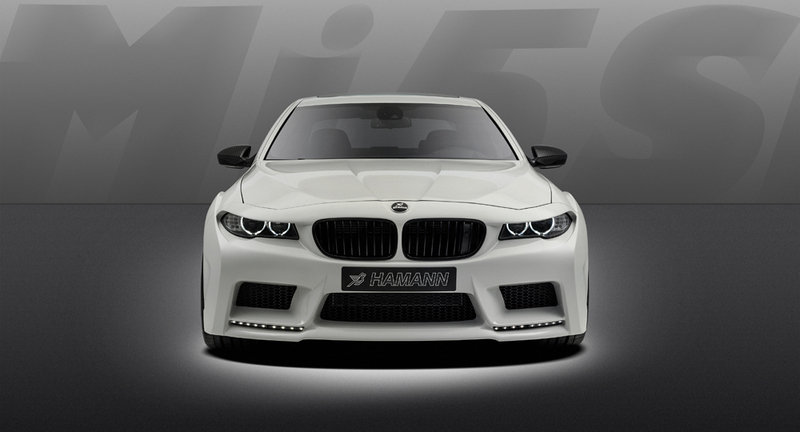 2013 BMW M5 Mi5Sion by Hamann High Resolution Exterior - image 495382