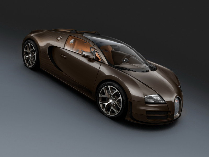 2013 Bugatti Veyron 16.4 Grand Sport Vitesse Fire Finch Bronze Carbon