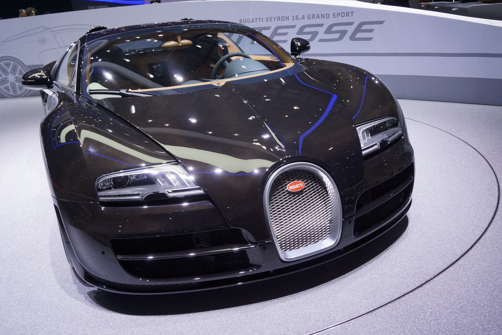2013 bugatti veyron 16 4 grand sport vitesse black carbon picture 495624 car review top speed. Black Bedroom Furniture Sets. Home Design Ideas