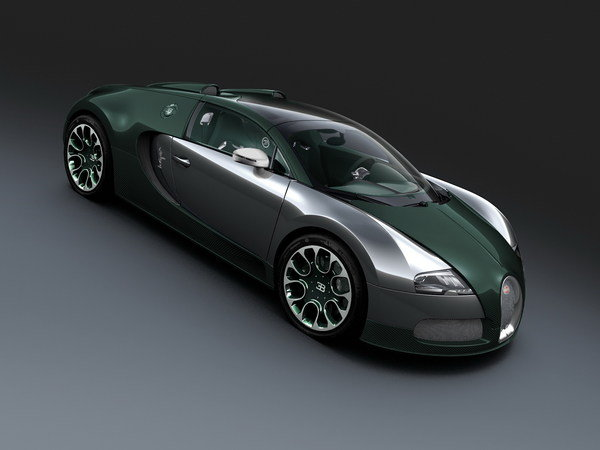 bugatti veyron 16.4 grand sport green carbon picture
