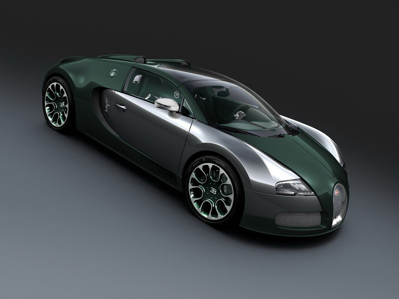 2013 Bugatti Veyron 16.4 Grand Sport Green Carbon High Resolution Exterior - image 495617