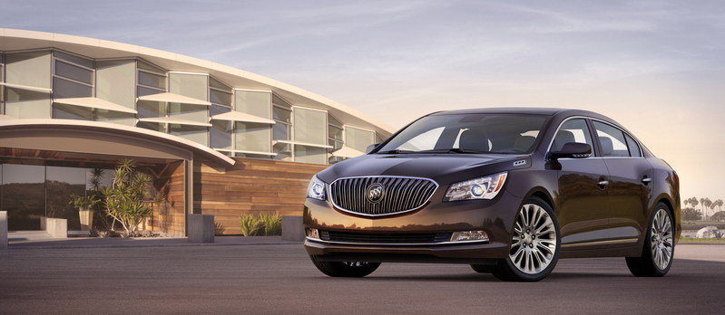 2014 Buick LaCrosse High Resolution Exterior - image 498915