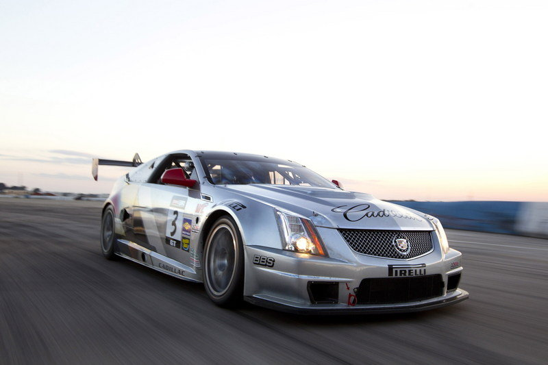 2013 Cadillac CTS-V Coupe Pirelli World Challenge