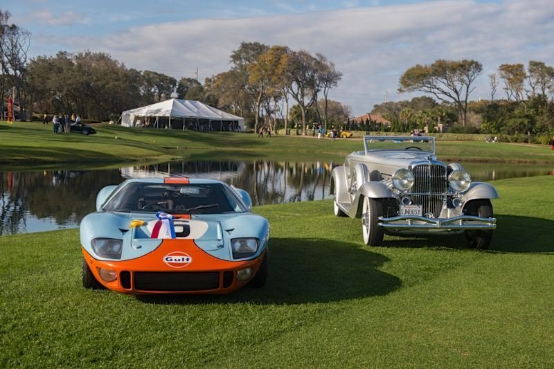 Duesenberg SJ and Ford GT40 - Best in Show at 2013 Amelia Island Concours