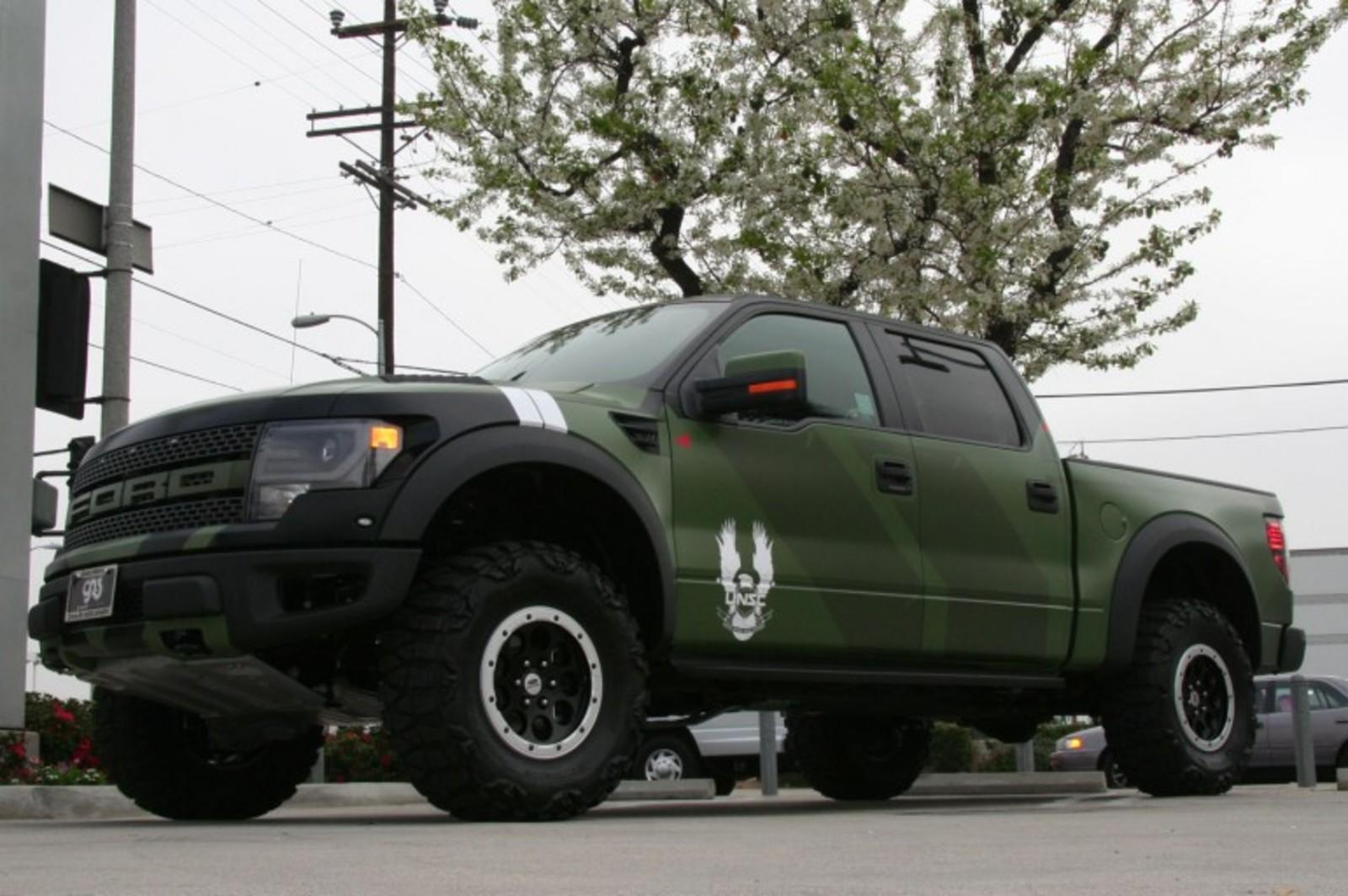 2013 Ford F 150 Svt Raptor Halo 4 Edition By Galpin Auto