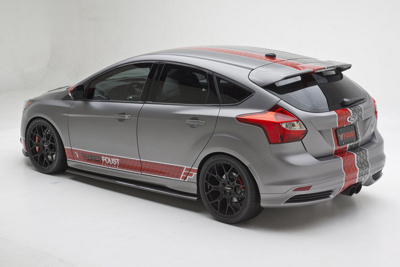 ford focus st 2013 tanner foust edition identi. Black Bedroom Furniture Sets. Home Design Ideas