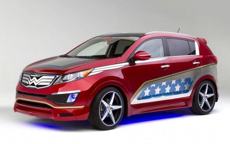 2014 Kia Sportage Wonder Woman