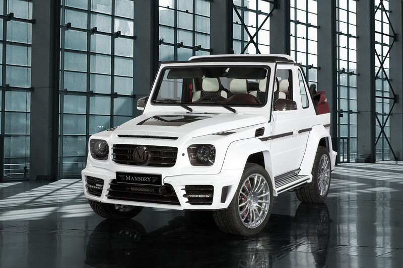 2013 Mercedes-Benz G500 Speranza by Mansory High Resolution Exterior Wallpaper quality - image 494941