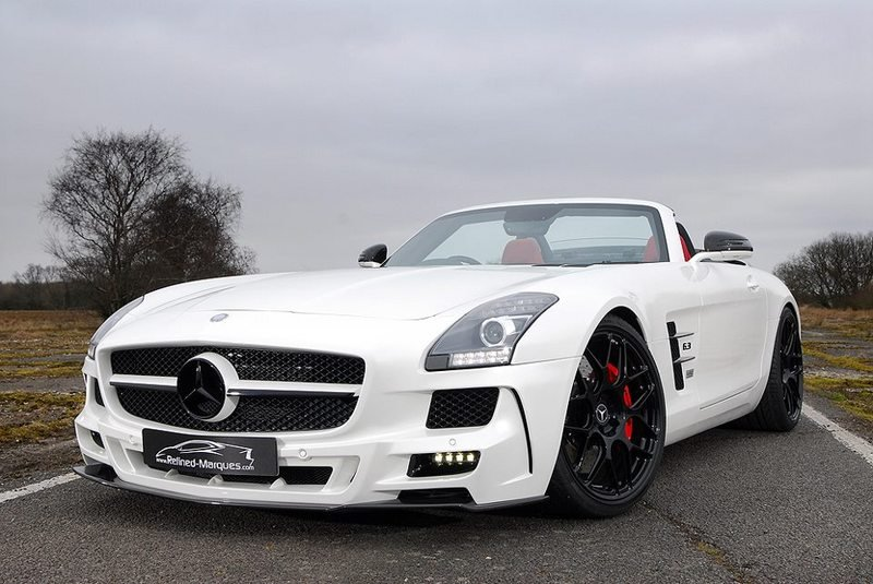 2013 Mercedes-Benz SLS 640-2 Carbon Edition by Oakley Design