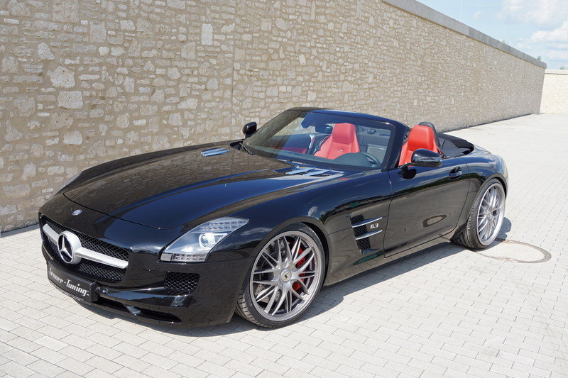 2013 Mercedes-Benz SLS63 AMG Roadster by Senner Tuning